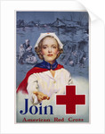 Join American Red Cross Recruitment Poster by R.C. Kauffmann
