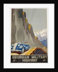 Georgian Military Highway Poster by Alexander Jitomirsky