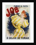 O' Dejar de Fumar Cigar Advertisement Poster by Jules Cheret