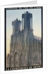 La Cathedrale de Reims Poster by Jean Droit