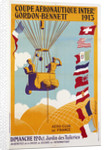 Coupe Aeronautique Gordon-Bennett Poster by A. Gournay