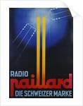 Radio Paillard: Die Schweizer Marke Poster by Corbis