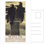 Esposizione Internationale, Roma 1911 Poster by Duilio Cambellotti
