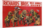 Richards Bros. Wild Animal Shows Poster by Corbis