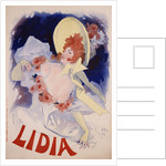 Lidia Poster by Jules Cheret