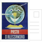 Pasta d'Alessandro Poster by Paolo Garretto