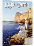 Lago di Garda Travel Advertisement Poster by Elio Aimenel