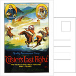 Custer's Last Fight Film Advertisement Poster by Corbis