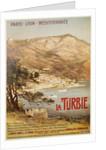 La Turbie Travel Poster by E. Bourgeois