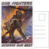 Our Fighters Deserve Our Best Poster by Corbis