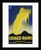 Uriage les Bains Hot Spings Poster by Gaston Gorde