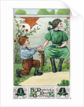 St. Patrick's Day Greetings Greeting Card by Corbis