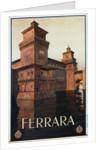 Ferrara Poster by Mario Borgoni