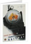 Trans-Australian Railway Poster by Gert Sellheim