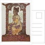 Koloniale Tentoonstelling Poster by Albert Hahn