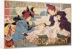 Exposition de Blanc a la Place Clichy Poster by Henri Thiriet