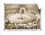 Interior View of Howes & Cushing's Great United States Circus Poster by Corbis