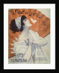 A Fleur de Levres Valse Waltz Sheet Music Cover by Clerice Freres