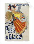 Palais de Glace Poster by Jules Cheret