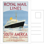 Royal Mail Lines to South America Poster by Jarvis