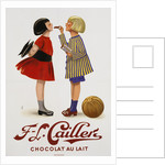 F-L Cailler's Chocolat au Lait Chocolate Advertisement Poster by Corbis
