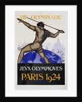 Jeux Olympiques, Paris 1924 Poster by Orsi