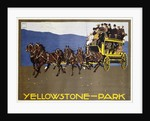 Yellowstone-Park Poster by Ludwig Hohlwein