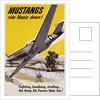 Mustangs Ride Nazis Down! Poster by Corbis