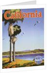California Poster by Oscar Bryn
