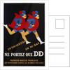 Ne Portez Que DD Poster by C. Gadoud