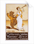 California's Jubilee Poster by Calthea Campbell Vivian