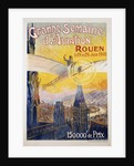 Grande Semaine d'Aviation Poster by Charles Rambert