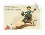 Albee's Midget Oyster Crackers Trade Card by Corbis