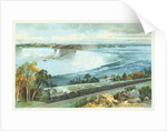 Niagara Falls from Michigan Central Train Poster by Charles Graham