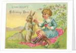 Longman's Library Tea Trade Card by Corbis