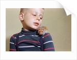 Hamster on Boy's Shoulder by Corbis