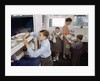 Family Cleaning the Dishes by Corbis