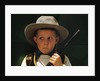 Boy Playing Cowboy with Gun by Corbis