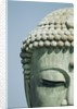 Detail of the Face of the Great Buddha of Kamakura by Corbis