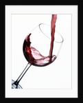 Pouring Red Wine into Wine Glass by Corbis