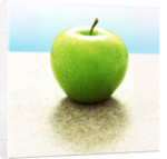 Green Granny Smith Apple by Corbis