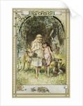 Kinder und Hausmarchen Book Illustration by Hermann Vogel