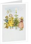Christmas Postcard by Corbis