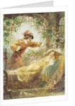 The Prince Finds the Sleeping Beauty Book Illustration by Corbis