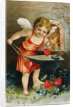 Love Message to My Valentine Postcard by Corbis