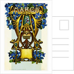 March - Aries Postcard by Aenz