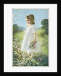 "The ""Daisy Girl"" Postcard by Corbis"