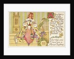 A Bayberry Candle Lighted at Christmas Postcard by Albertine Randall Wheelan