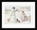 Gluckliches Neujahr! Postcard by Corbis