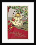 A Merry Christmas! Postcard by Corbis
